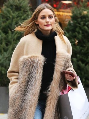 Olivia Palermo Just Wore Another Totally Affordable Winter Sweater