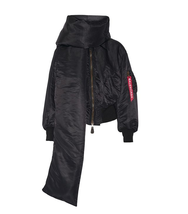 Balenciaga Swing Shell Bomber Jacket