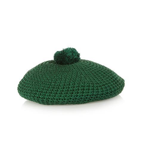 Crocheted Cotton Beret
