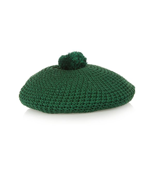 Gucci Crocheted Cotton Beret