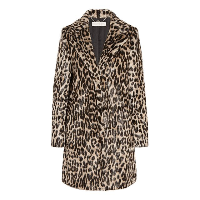 Stella McCartney Leopard Coat