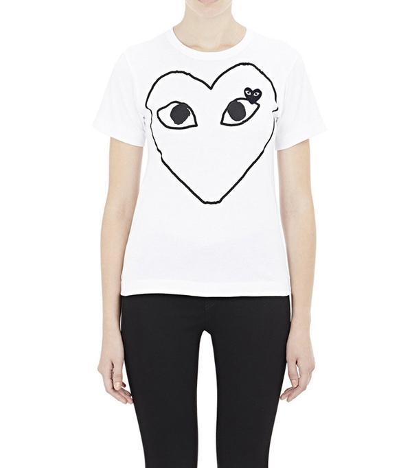 Comme des Garçons PLAY Playful Heart T-Shirt