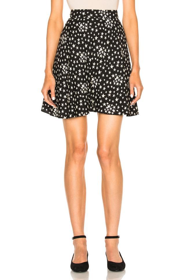 Saint Laurent Star Mini Skirt