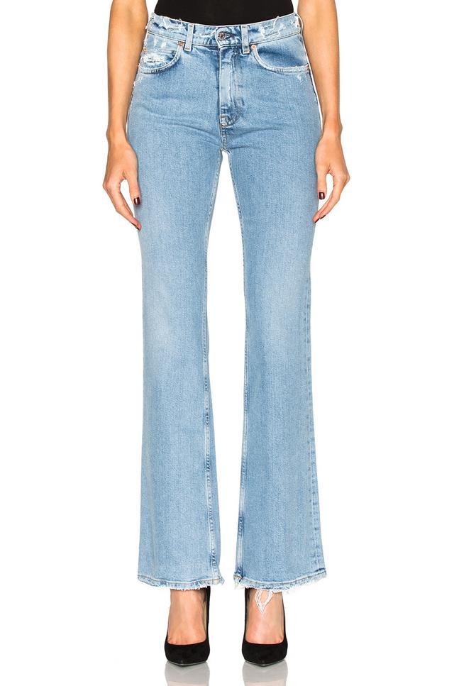 Acne Studios Lita In Indigo Jeans