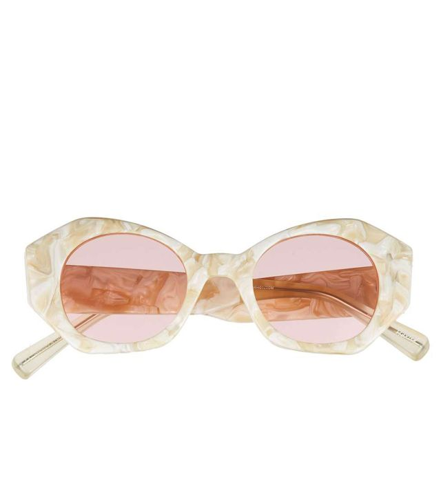 Women's Elizabeth And James Huxley 46Mm Geometric Sunglasses -