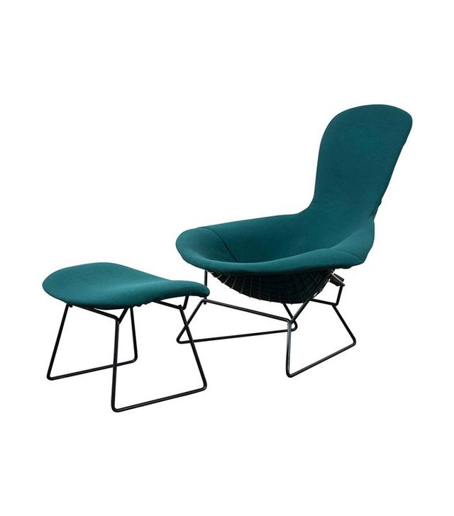 Harry Bertoia for Knoll Vintage Bird Chair and Ottoman