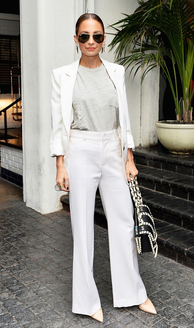 Designer Nicole Richie at the CFDA/Vogue Fashion Fund Show and Tea presented by kate spade new york at Chateau Marmont on October 26, 2016 in Los Angeles, California.
