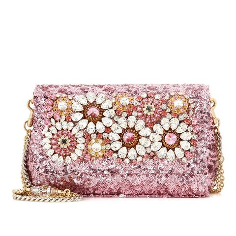 Anna Embellished Shoulder Bag