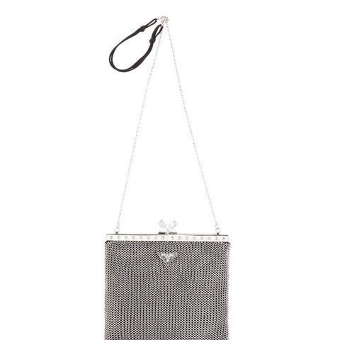 Chain Mesh Shoulder Bag