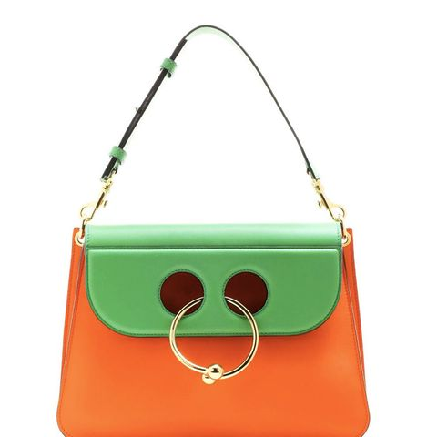 Medium Pierce Leather Shoulder Bag
