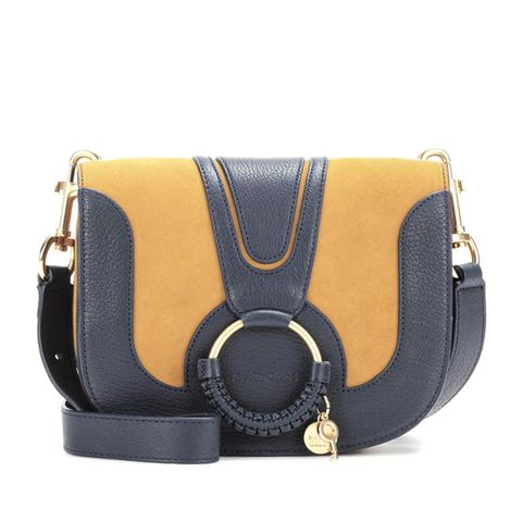Hana Medium Leather Shoulder Bag