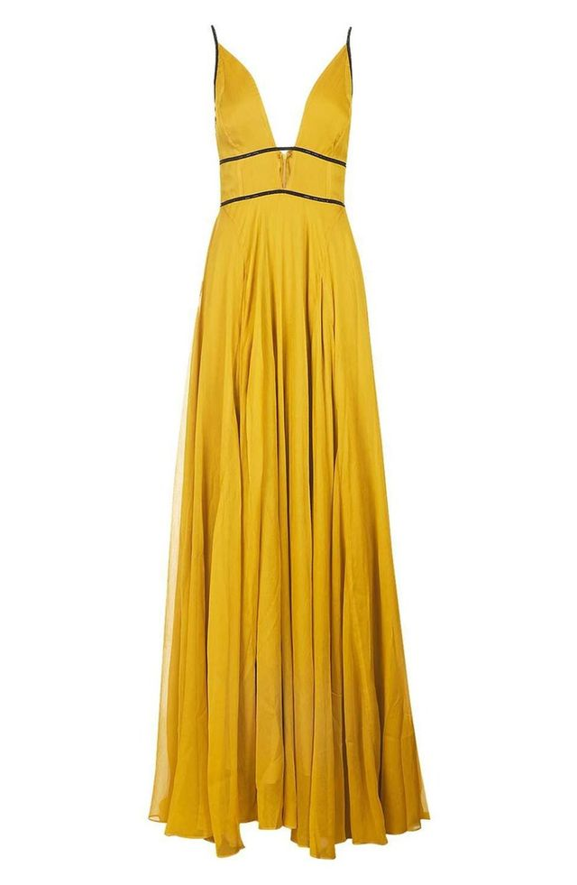 Topshop Beaded Maxi Dress