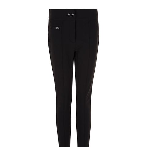 Black Allure Stirrup Ski Pants