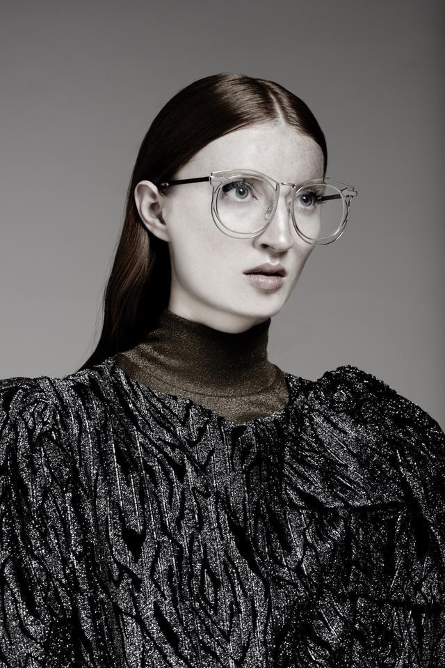 Karen Walker Simone Silver Clear Lens