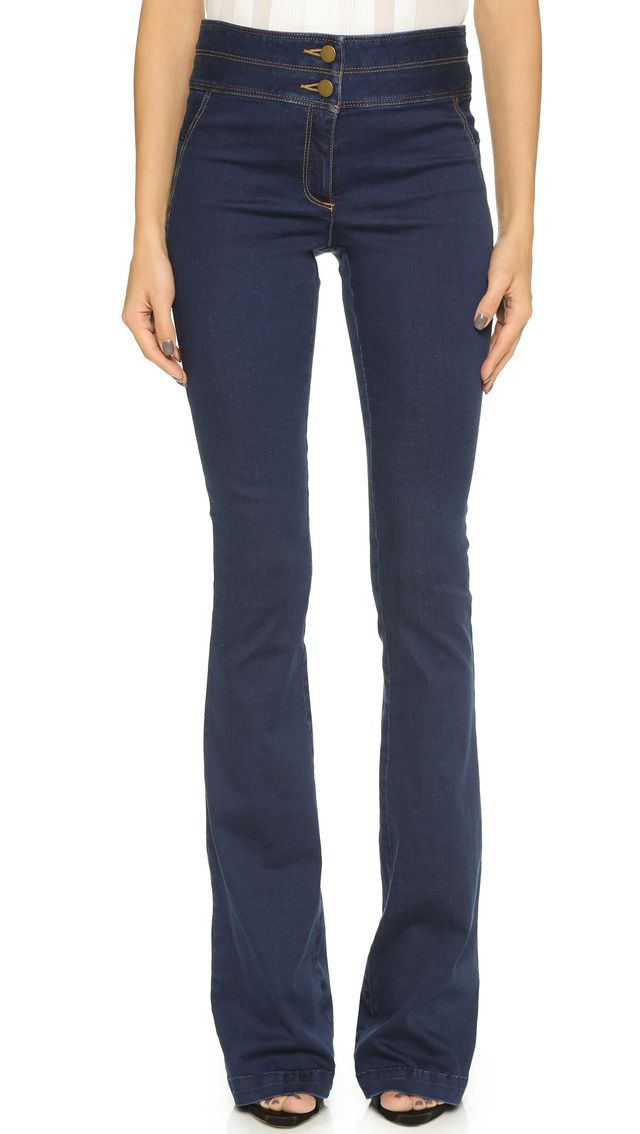 Veronica Beard High Wasited Flare Jeans