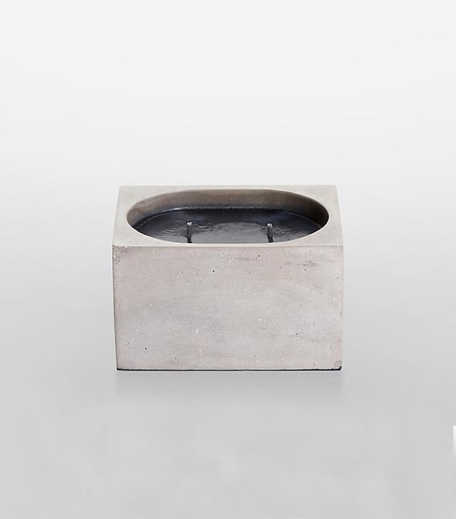 Calvin Klein Home Concrete Dual-Wick Candle