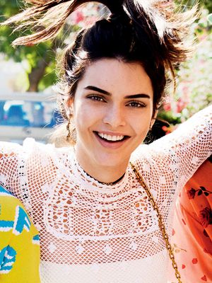 Kendall Jenner Has an Unexpected Co-Star in Her New Vogue Shoot