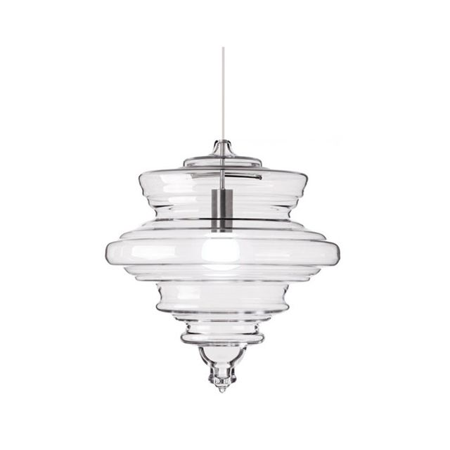 Temple & Webster Replica Blown Glass La Scala Neverending Glory Pendant Light