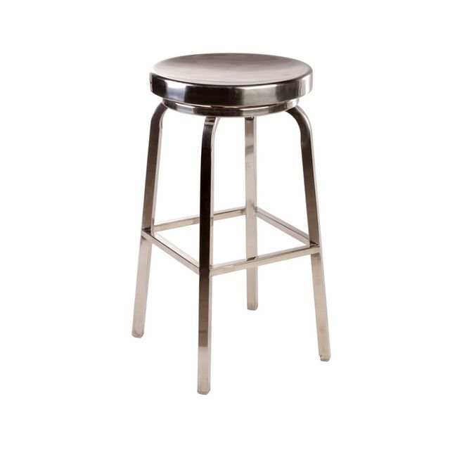 Matt Blatt Replica Emeco US Navy Round Swivel Stool