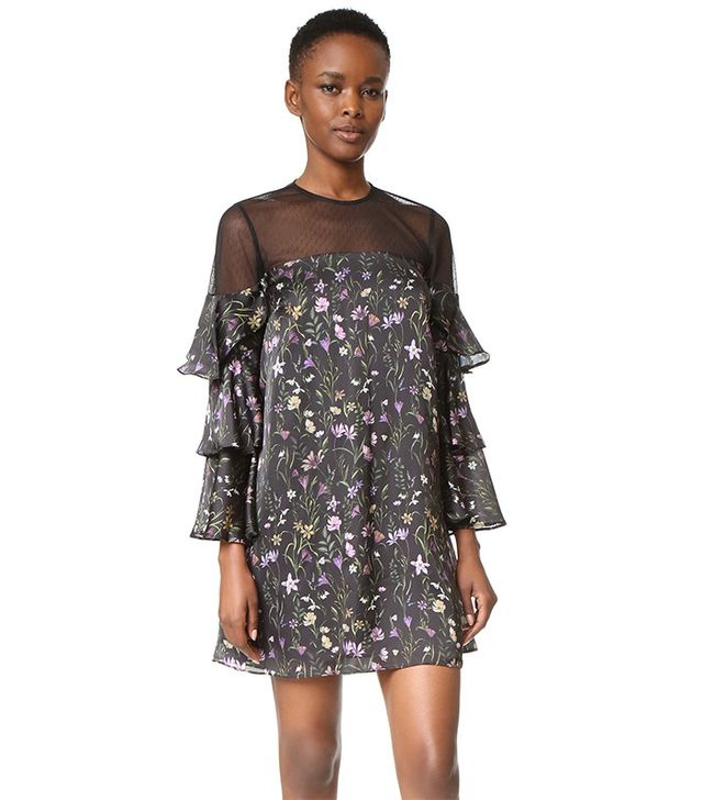 Cynthia Rowley Prairie Floral Mini Dress