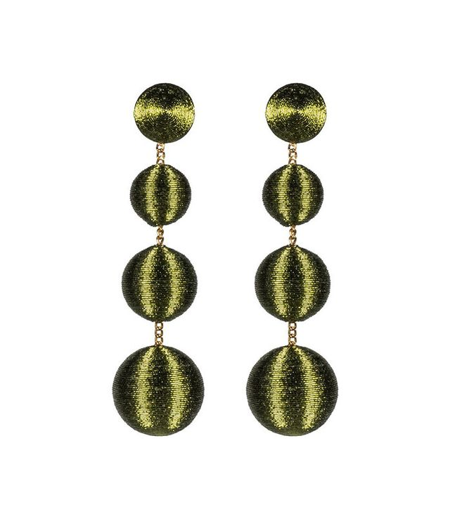 Rebecca de Ravenel Les Bonbons Earrings in Gin-Gin