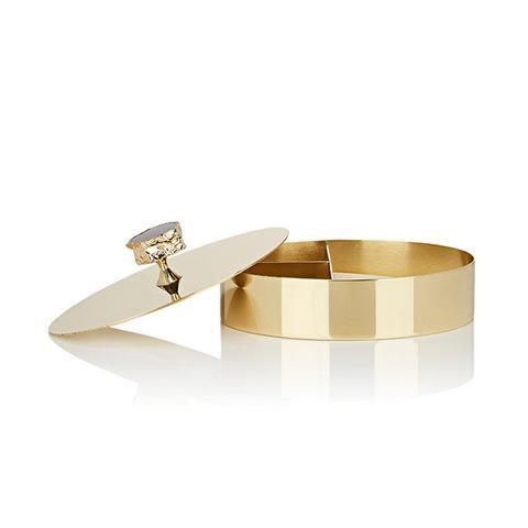 Héritage 24k Gold & Obsidian Vanity Box