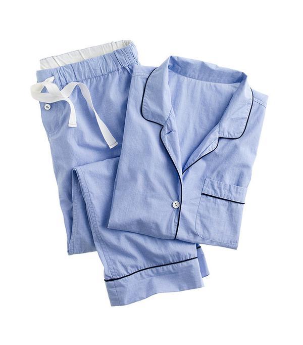 J. Crew Vintage Short-Sleeve Pajama Set