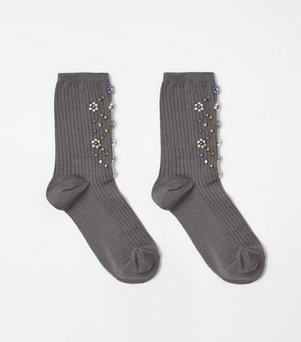Rachel Comey Rhinestone Crew Socks