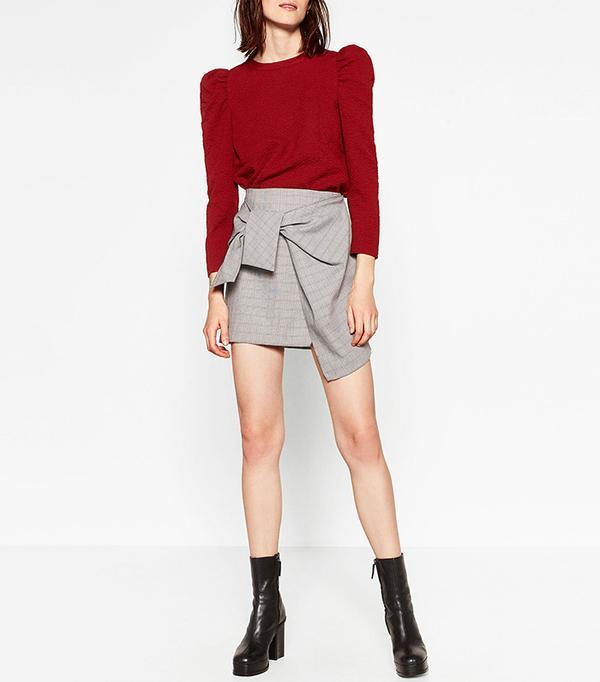 Zara Wide Sleeved Top