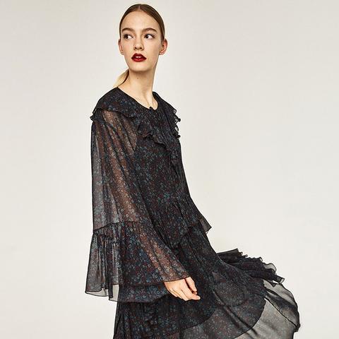 Studio Midi Floral Dress