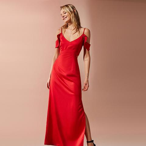 London Windslow Empire Waist Maxi Dress