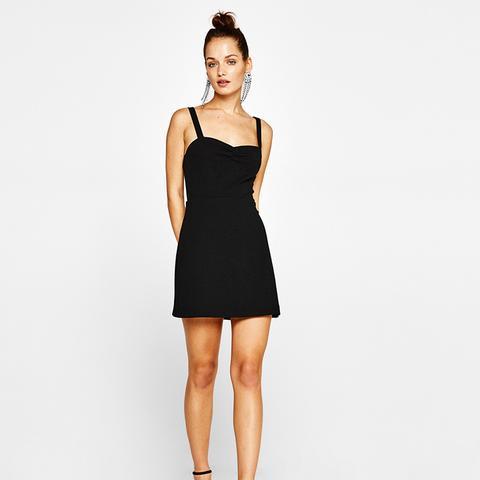 Short Crepe Dress