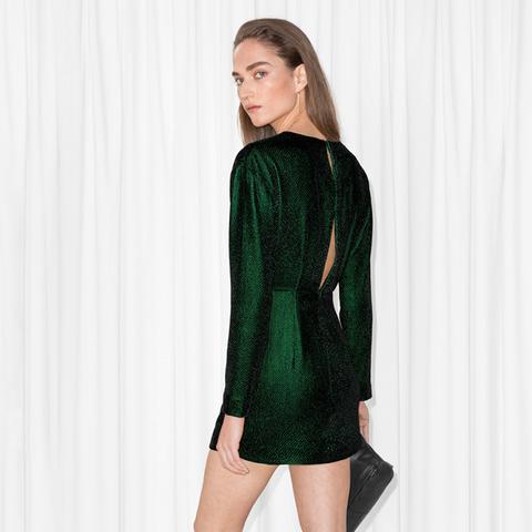 Slit Back Dress