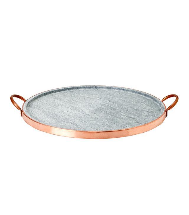 Waterworks Pedra Large Round Soapstone Grill Pan