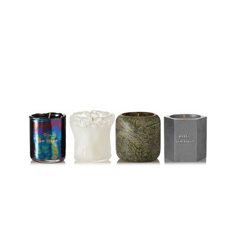 Materialism Set of Four Candles