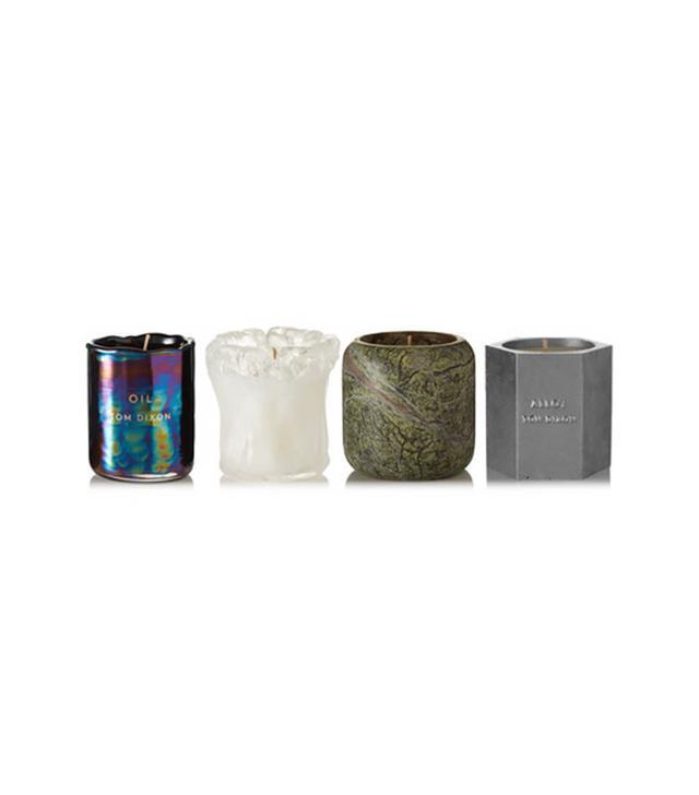 Tom Dixon Materialism Set of Four Candles