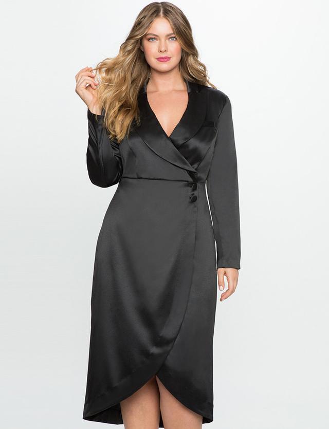 Eloquii Studio Tuxedo Dress
