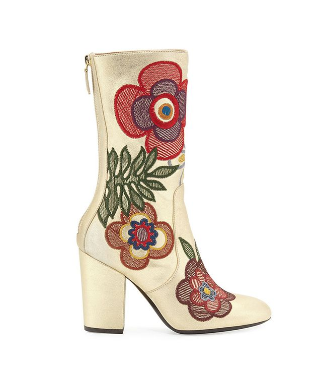 Laurence Dacade Insolente Embroidered Leather Boot