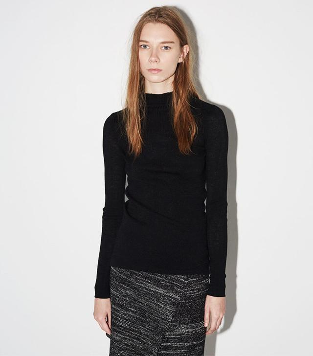 Isabel Marant Zasha Thin Ribbed Knit Sweater