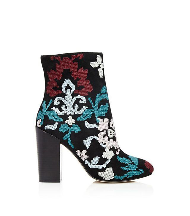 Rebecca Minkoff Bojana Embroidered Booties