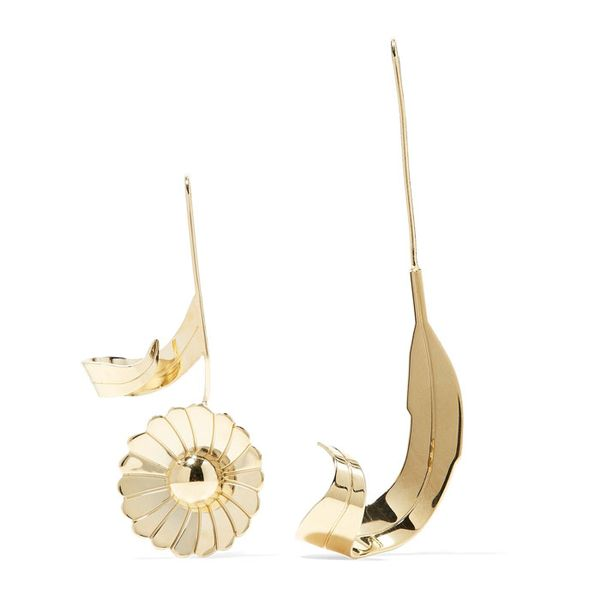 J.W Anderson Gold-Plated Earrings