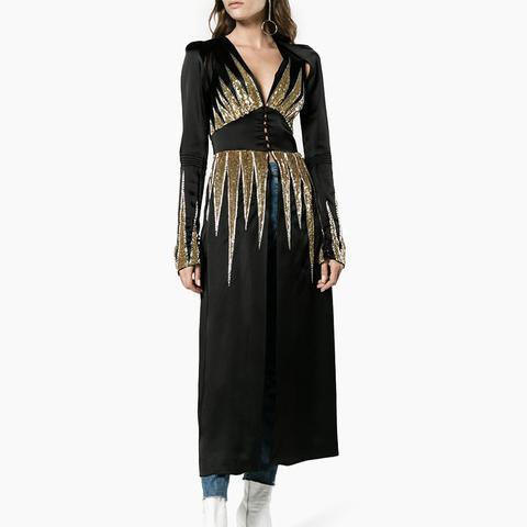 Suzanne Sequin Embellished Jacket