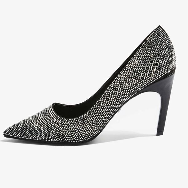 Topshop Grandure Chain Court Shoes