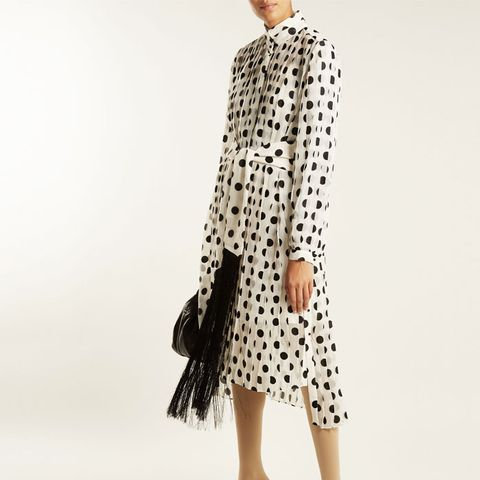 Rife Polka-Dot Dress