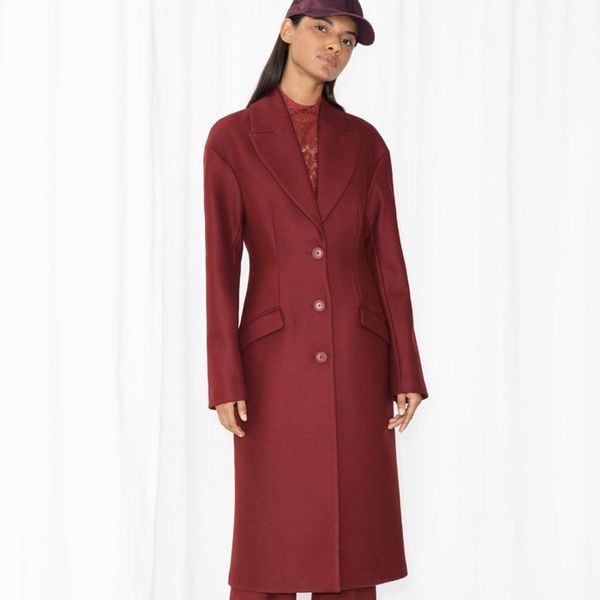 & Other Stories Wool Coat