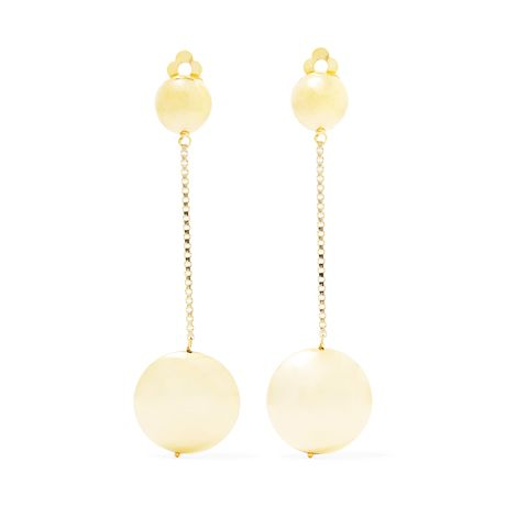 Incanto Gold-Tone Clip Earrings