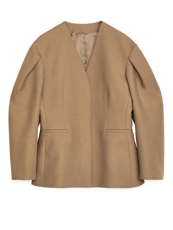 Arket Puff-Sleeve Blazer