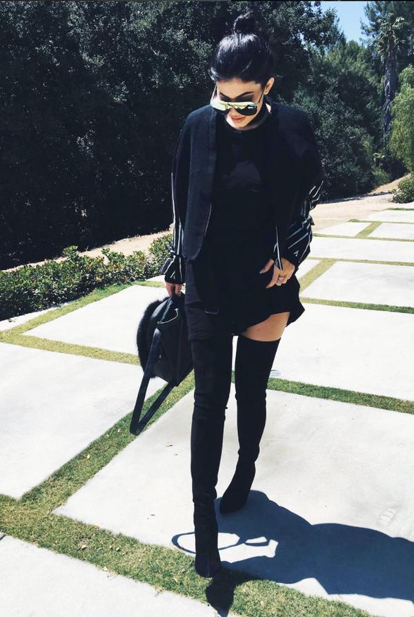 Kylie Jenner celebrity style