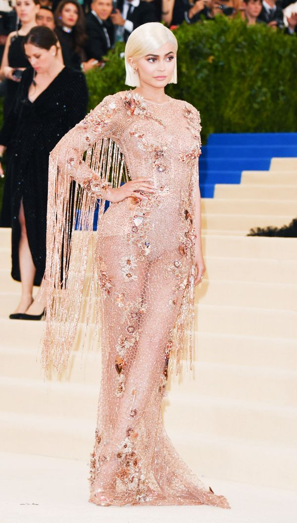 Kylie Jenner celebrity style: Met Gala 2017