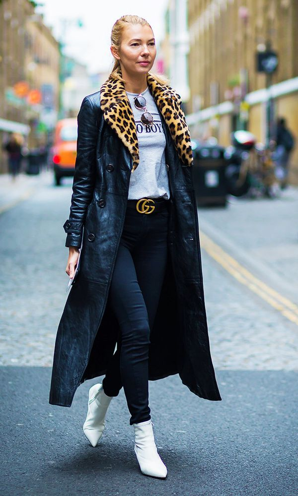 Style Notes: The quickest way to make any outfit look disco-worthy? Add some leopard print.